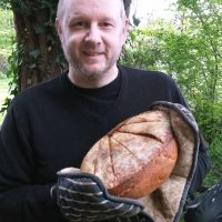 Voice over actor with bread